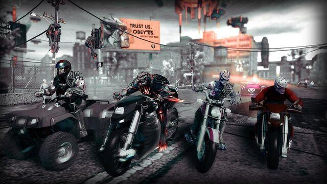 File:Zinyak Attack Pack promo - riding bikes.jpg