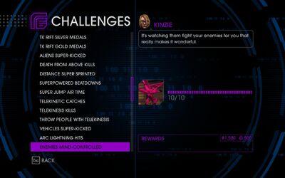 Challenge 38 Enemies Mind-Controlled