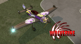 Wolverine - Saints variant - front right with logo in Saints Row 2