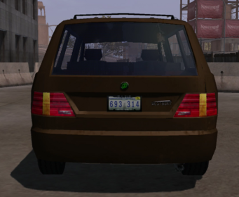 Westbury - rear in Saints Row