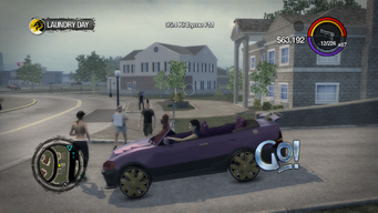 Go! - left in Saints Row 2
