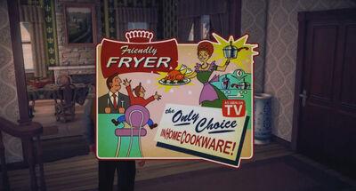 A Pleasant Day - Friendly Fryer advertisement