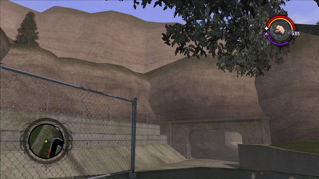 File:Mount Claflin - view of tunnel in Saints Row.png