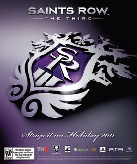 Saints Row The Third Promo Poster