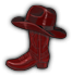 Saints Row 2 clothing logo - boot