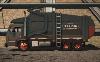 Saints Row IV variants - Steelport Municipal Alien - left