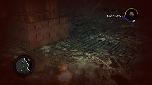 File:Zombie Uprising - hung Smoked screen after exit glitch.png
