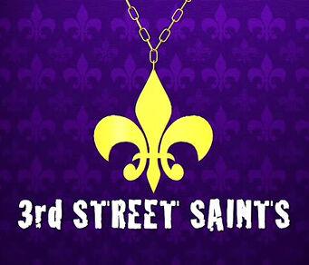 3rd Street Saints pendant