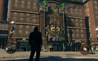 Poseidon's Palace building in Saints Row The Third