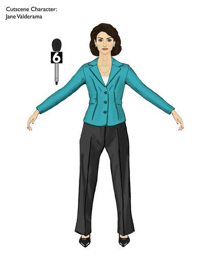 Jane Valderama Saints Row 2 Concept Art