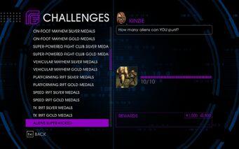 Challenge 28 Aliens Super-Kicked