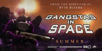 Gangstas in Space billboard