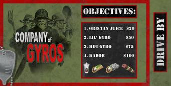 Company of Gyros menu d gl