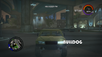 Bulldog - front with logo in Saints Row 2
