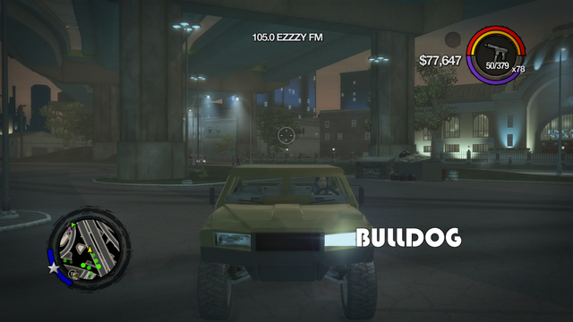 File:Bulldog - front with logo in Saints Row 2.png