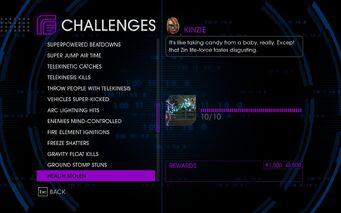 Challenge 43 Health Stolen
