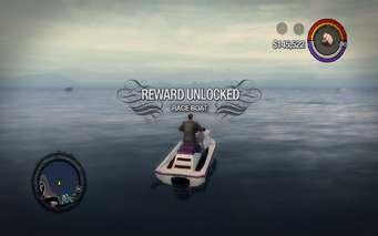 Race Boat unlocked SR2