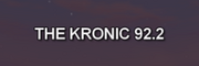 The Kronic 92.2 onscreen text