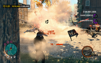 Mayhem - combat tricks in Saints Row The Third