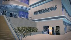 Impressions in Harrowgate - exterior close