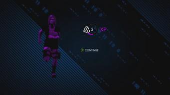 Blazin - XP reward in Saints Row IV gameplay preview