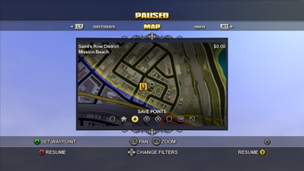 Save Point on Map