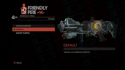 Weapon - Rifles - Disintegrator - Disintegrator - Default