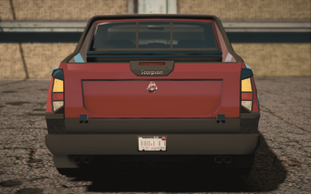 Saints Row IV variants - Criminal Morningstar - rear