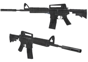AR-40 Xtnd - Saints Row 2 model