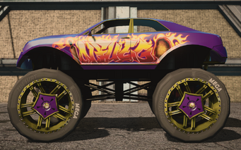 Saints Row IV variants - Infuego XL average - left