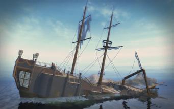 Shipwreck Cove - rear right