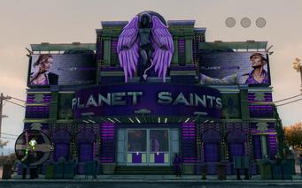 Planet Saints - exterior
