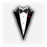 Saints Row 2 clothing logo - tux