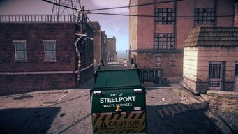 Steelport Municipal - rear in Saints Row IV