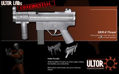 Weapon SKR-9 Threat