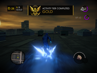 Saints Row IV - Blazin - Gold activity tier completed