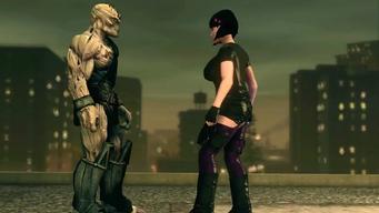 Saints Row IV Announce Teaser - alien before nutshot
