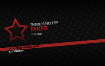 There is No Try fail screen