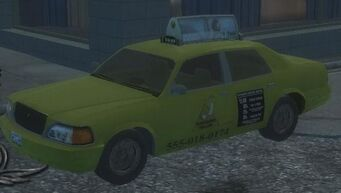 Taxi - front left in Saints Row 2