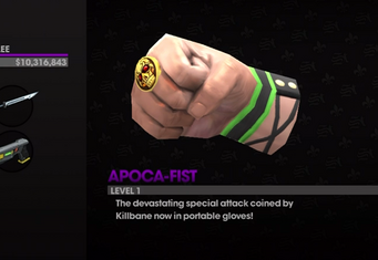 Apoca-Fist in Weapon Cache