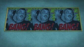 Developer offices - Bang Bang Bang sign