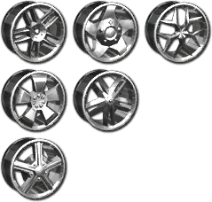 Vehicle Customization - Sports 2 Rims in Saints Row 2