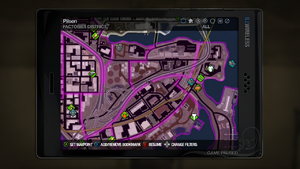 Factories map in Saints Row 2