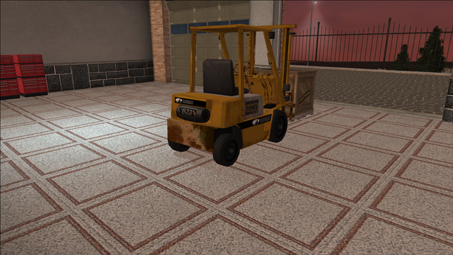 File:Saints Row variants - Forklift - industrial with crate - rear right.png