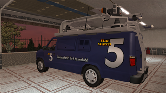 Saints Row variants - Anchor - News5 - rear left
