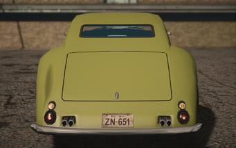 Saints Row IV variants - Lightning Classic - rear