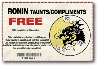 File:Taunts and Compliments - Ronin unlocked.png