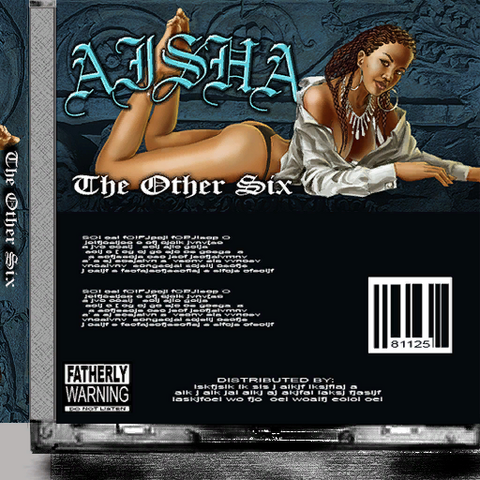 File:Aisha - The Other Six CD back cover.png