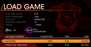 100% Completion SRG
