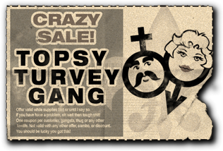 File:Gang Customization in Saints Row 2 - Crossdressers gang unlock coupon.png